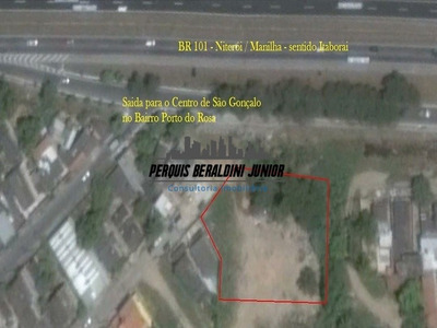 Área Com 1.250 M² As Margens Da Br 101(niterói/manilha) - Pbj064