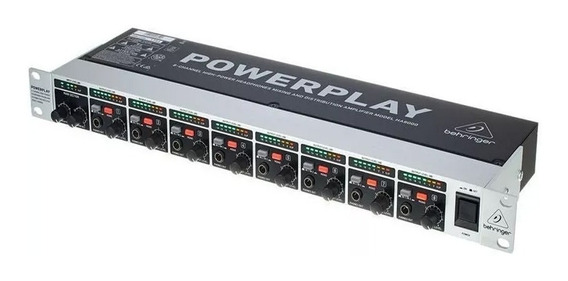 Power Play Behringer Ha8000- Amplificador C/nota Fiscal