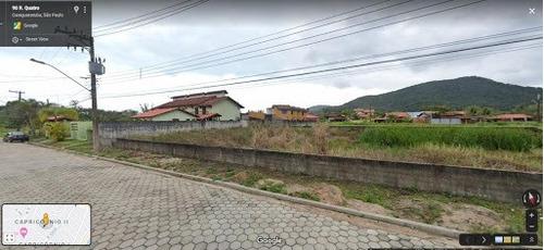 Terreno À Venda, 720 M² Por R$ 500.000,00 - Capricórnio Iii - Caraguatatuba/sp - Te0166