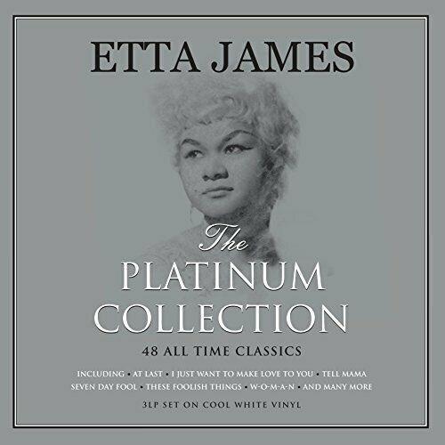 Lp Etta James The Platinum Collection 3lps Leia Descrição