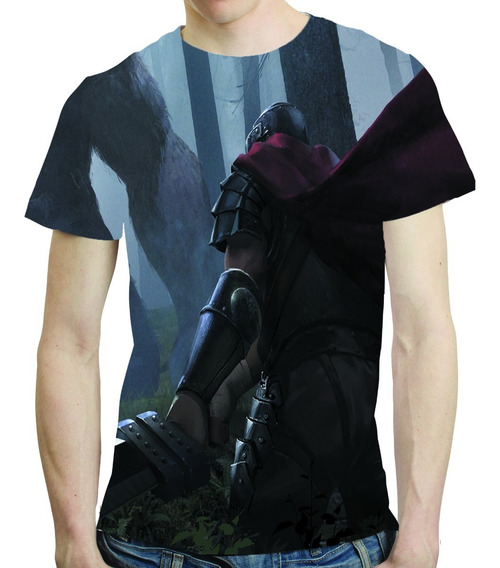 Camisa Anime Camiseta Berserk - Estampa Total 10