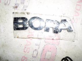 Emblema Adesivo Nome Vw Bora Cromado