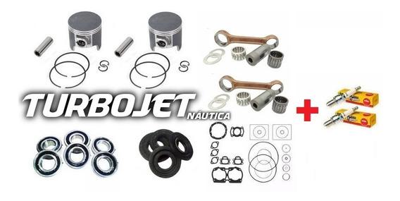 Kit Motor Jet Ski Sea Doo 580cc , Completo + Velas