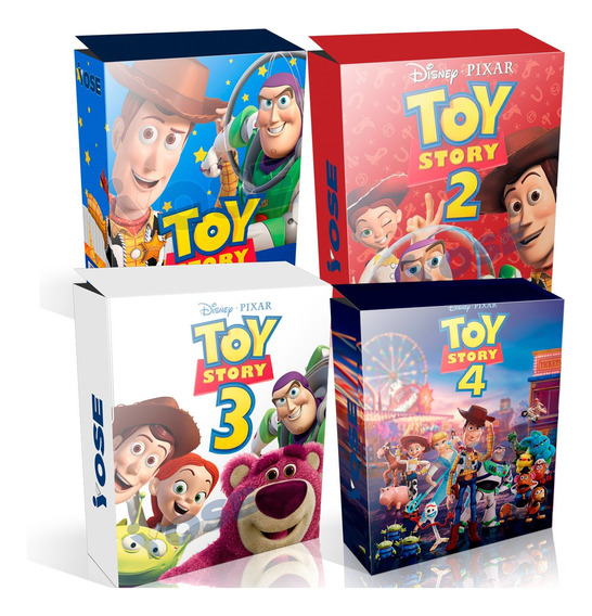 Kit Imprimible Toy Story 4 En 1
