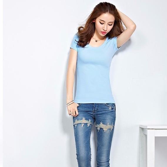 Kit 15 Blusas Femininas Camisetas Baby Look Atacado Revenda