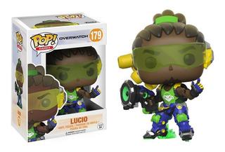 Funko Pop Lucio 179 Overwatch Nuevo En Caja