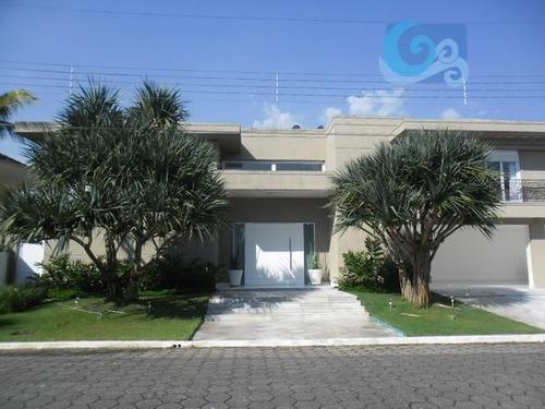 Imagem 1 de 30 de Casa À Venda No Condomínio Jardim Acapulco - Guarujá - Ca1133