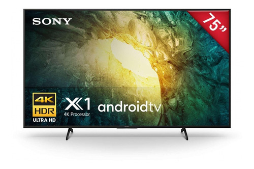 Imagen 1 de 5 de Pantalla Led Sony 75 Ultra Hd 4k Smart Tv