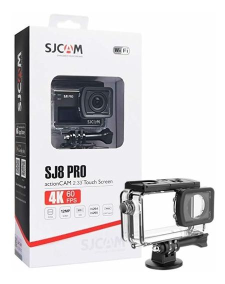 Câmera Esportiva Sjcam Sj8 Pro Wifi Original 4k Full Set