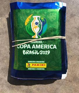 Figuritas Panini 25paq Copa América 2019
