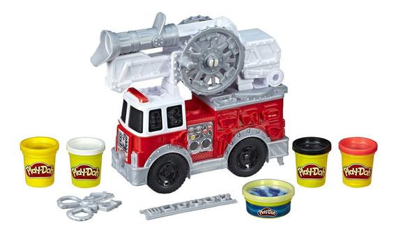 Veículo E Conjunto De Massinhas - Play-doh - Caminhão De Bom