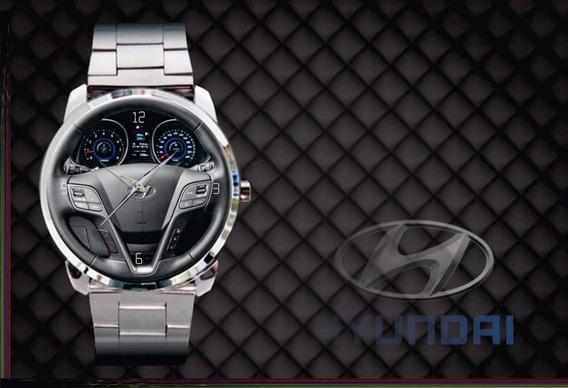 Relógio De Pulso Personalizado Painel Hyundai Santa Fé