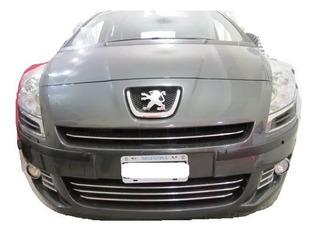 Peugeot 5008 Protectores De Paragolpes Negras 50 Mm Rapinese