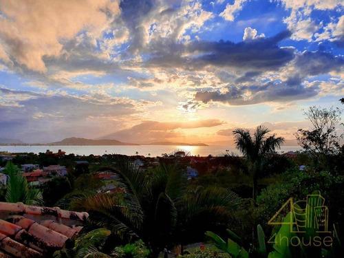 Imagem 1 de 26 de Casa À Venda Em Ponta Das Canas, Florianópolis. Cercada Pela Natureza Com Vista Privilegiada Para O Mar , 315 M², 2 Dormitórios, 1 Suíte E 4 Vagas. - Ca0555