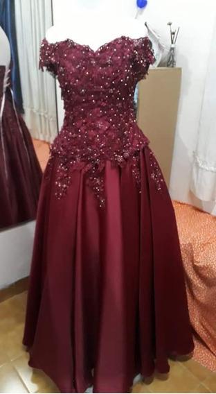Vestido De Quinceañera ,parte Larga Y Corta Hermoso