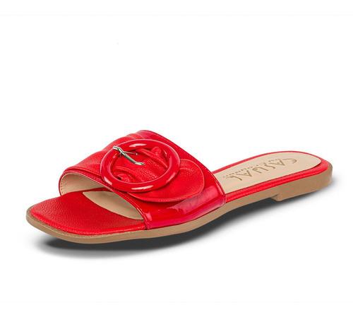 Sandalias Marisol Rojo Para Mujer Croydon