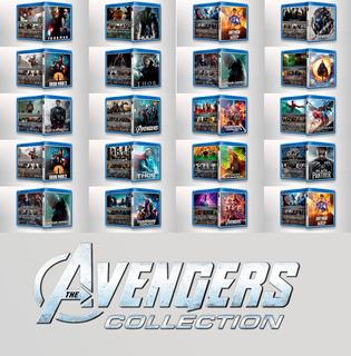 Bluray - Colección Marvel Completa - Peliculas Completas Mcu