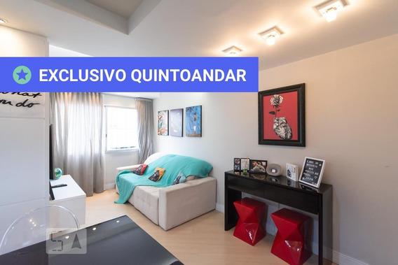 Apartamento No 12º Andar Mobiliado Com 2 Dormitórios E 1 Garagem - Id: 892947464 - 247464