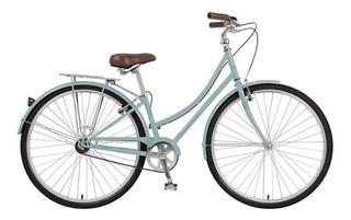 Bicicleta Paseo Dama Urbana Khs Green 3 Nexus Norbikes