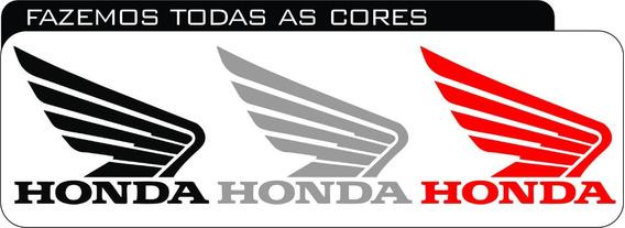 Simbolo Da Honda Asas Adesivo Plotagens Honda Bros Fan 150