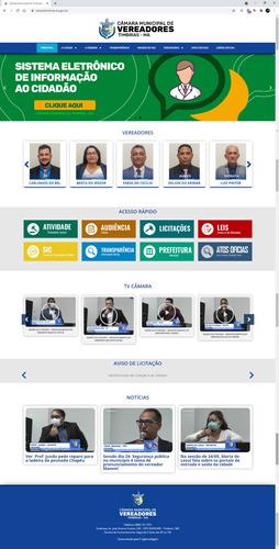 Site Portal Da Transparência Prefeitura Câmara Wordpress