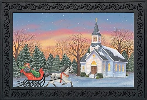 Imagen 1 de 1 de Carril De Briarwood Felpudo De Navidad Para Un Caballo De In
