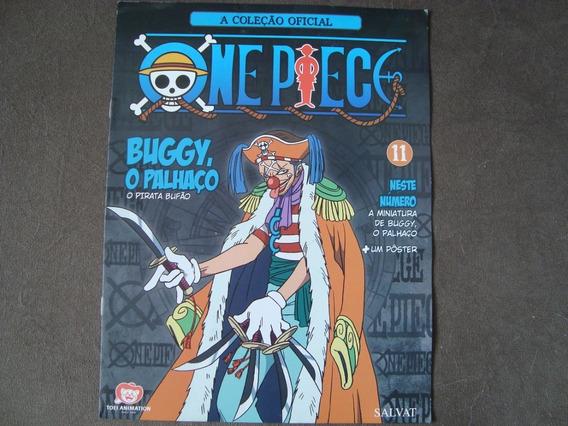 A Coleção Oficial- One Piece- Encarte 11- Buggy - Com Poster