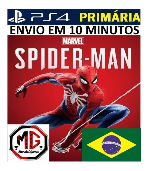 Marvels Spider-man Homem Aranha Ps4 Original 1 Em Português