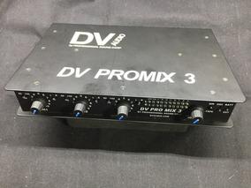 Mixer 3 Canais Psc Dv Promix 3