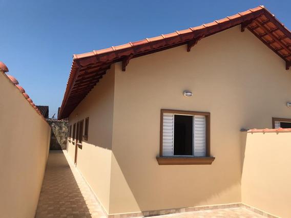 Casa Nova Em Mongaguá Só R$ 179.900 Ref: 7672 C