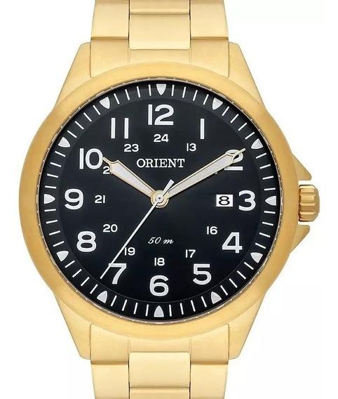 Relógio Orient Masculino Dourado - Mgss1105a P2kx