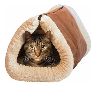 Tapete Para Gato Cama Caliente Kitty Shock 2 En 1 Transporte