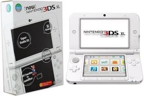 Nintendo New 3ds Xl Branco Novo Na Caixa