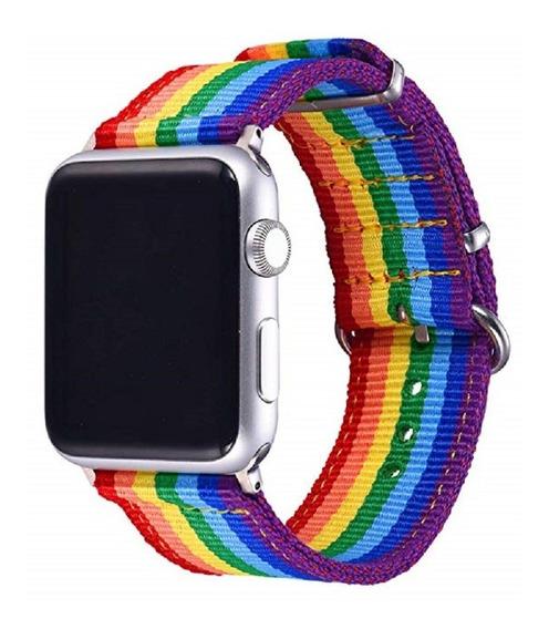 Banda Correa Extensible Apple Watch Serie 1, 2, 3, 4 Nylon