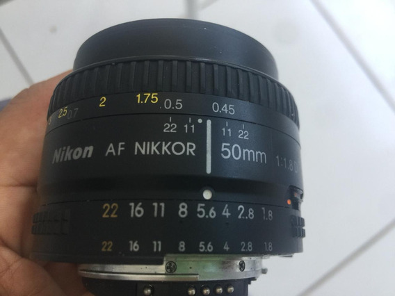 Lente Nikon Af Nikkor 50mm 1:18