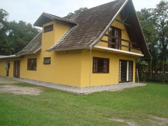 Linda Casa Medindo 195 M Localizada Na Vila Das Palmeiras Em Morretes - Ca0027