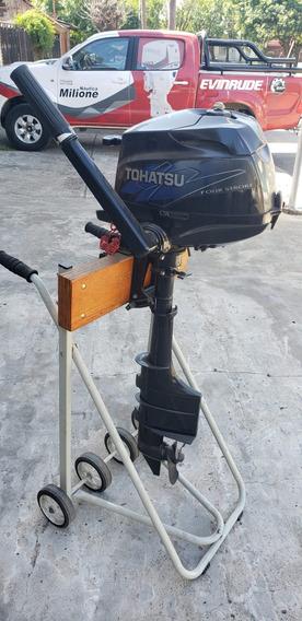 Motor Tohatsu 3.5 Hp 4 Tiempos Ecologico Nautica Milione