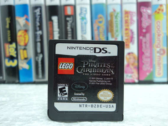 Lego Pirates Of The Caribbean The Video Game - Nintendo Ds !
