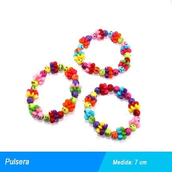 Pulsera De Colores Economica Unitalla