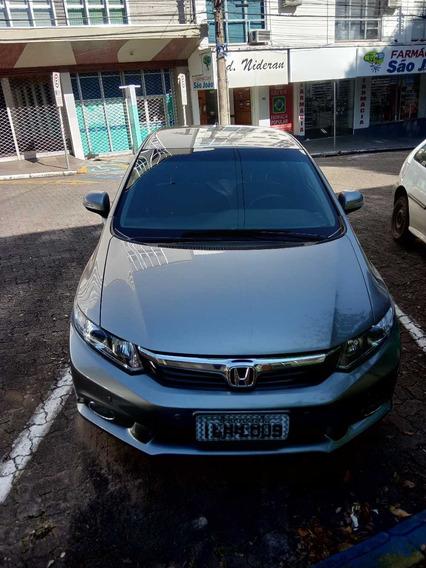 Honda Civic 2.0 Automatico 2014 Lxr Aceito Troca