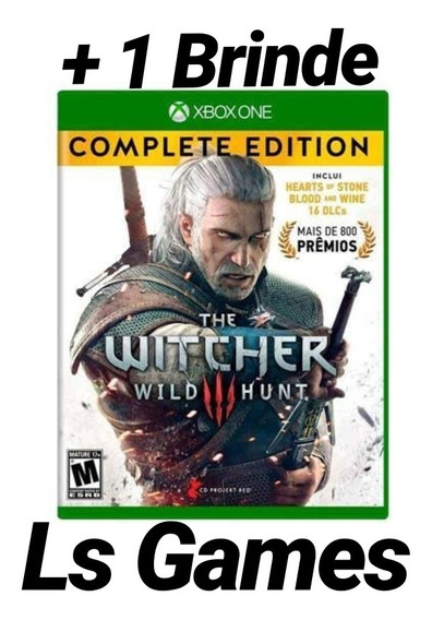 The Witcher 3 Complete Edition Mídia Digital Xbox + Brinde