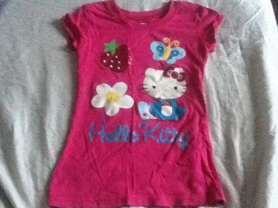 Camiseta Hello Kitty 4/5 Anos ,envio Para Todo Brasil !!