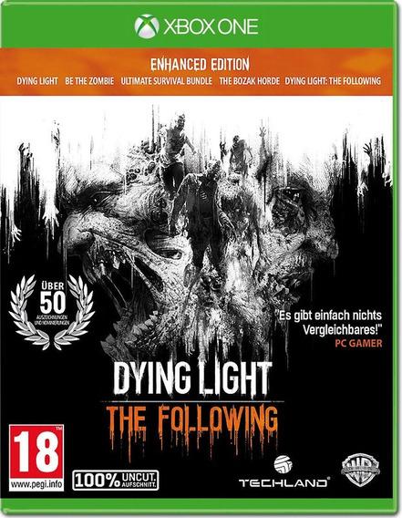 Dying Light Xbox One Original Midia Fisica Lacrado Português