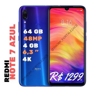 Xiaomi Redmi Note 7 4gb/64gb Dual Global Só Fortaleza Ceará