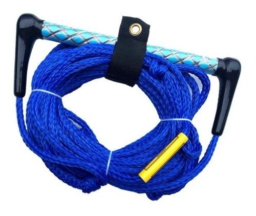 Cuerda Para Esquiar Azul 23mts - 5/16