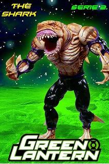The Shark: Green Lantern. Serie 2. Dc Direct. 2006.