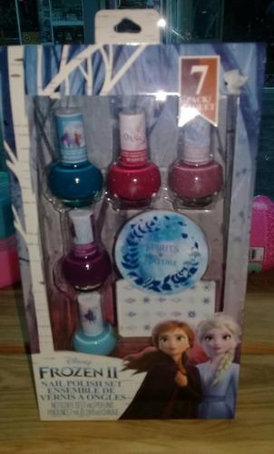 Frozen 2 Esmaltes Uñas Maquillaje Niñas Original Labial