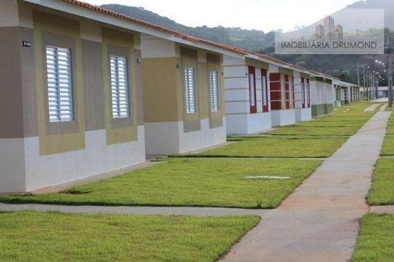 Casa Em Bela Vista, Palhoça/sc De 55m² 3 Quartos À Venda Por R$ 129.900,00 - Ca266212