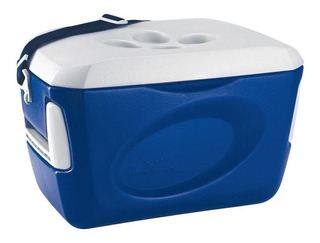 Caixa Térmica Cooler 24 Litros Azul Royal Original Invicta