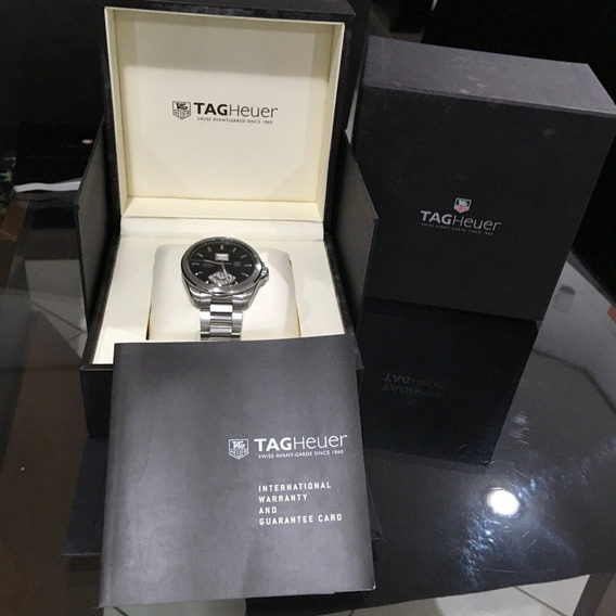 Tag Heuer Grand Carrera Calibre 8rs Gmt Completo Omega Rolex
